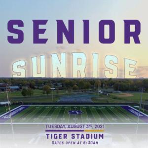 senior sunrise graphic