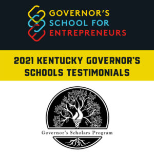 KY Governor's Summer Programs Graphic