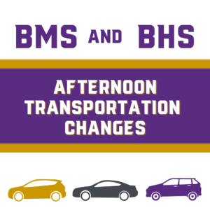 Afternoon Transportation Changes Graphic