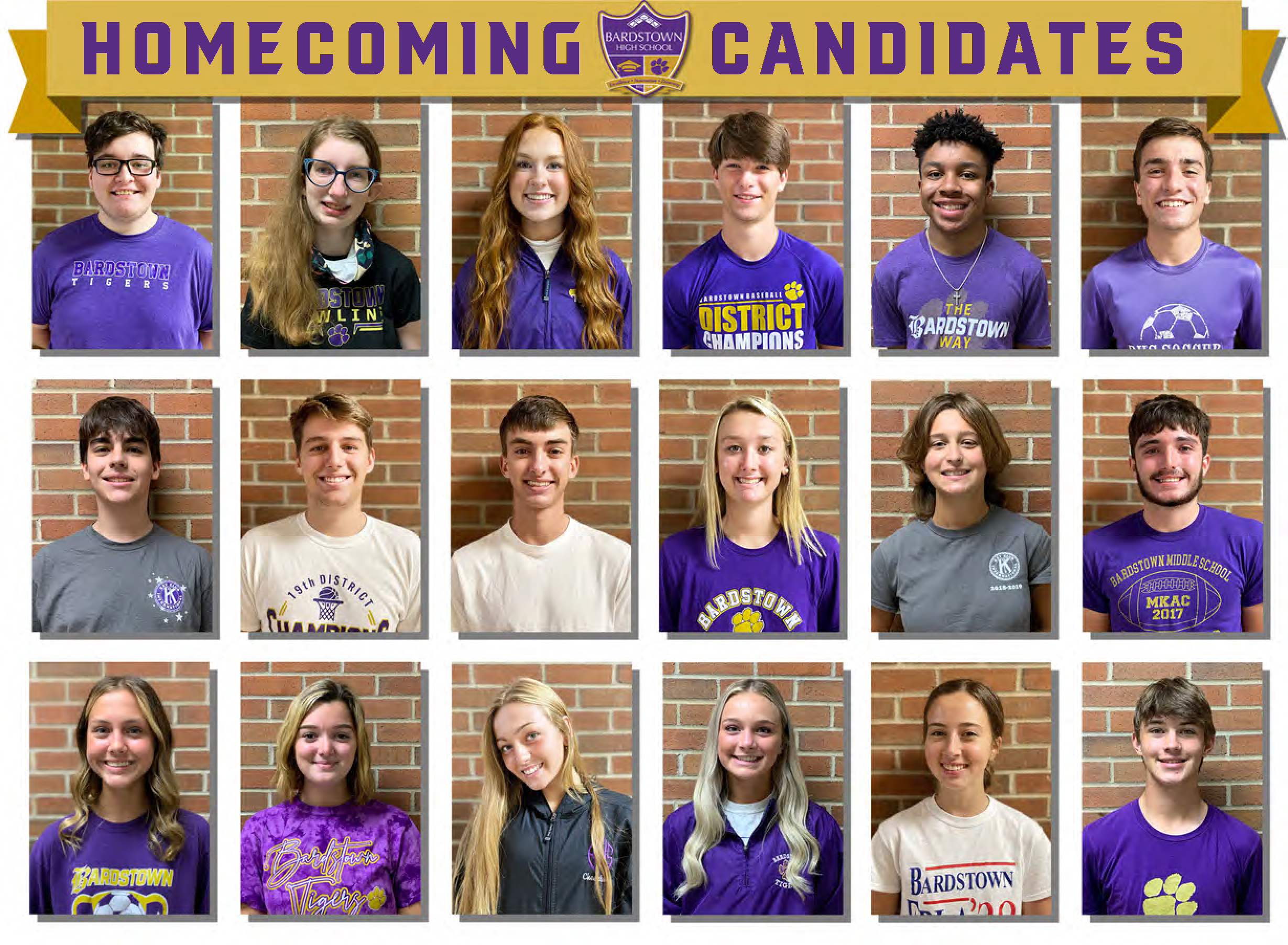 2021 Homecoming Candidates