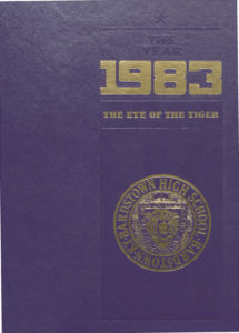BHS 1983 yearbook cover