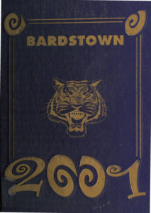 BHS 2001 yearbook cover
