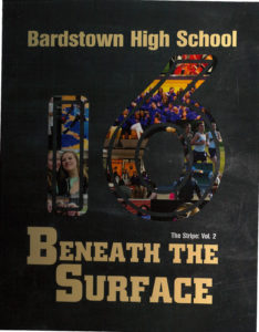 BHS 2016 yearbook cover