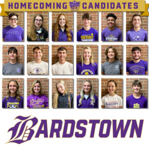 BHS Football Homecoming Candidates 2021